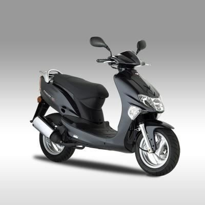 kymco vitality 50cc 2t gris achat vente scooter kymco. Black Bedroom Furniture Sets. Home Design Ideas