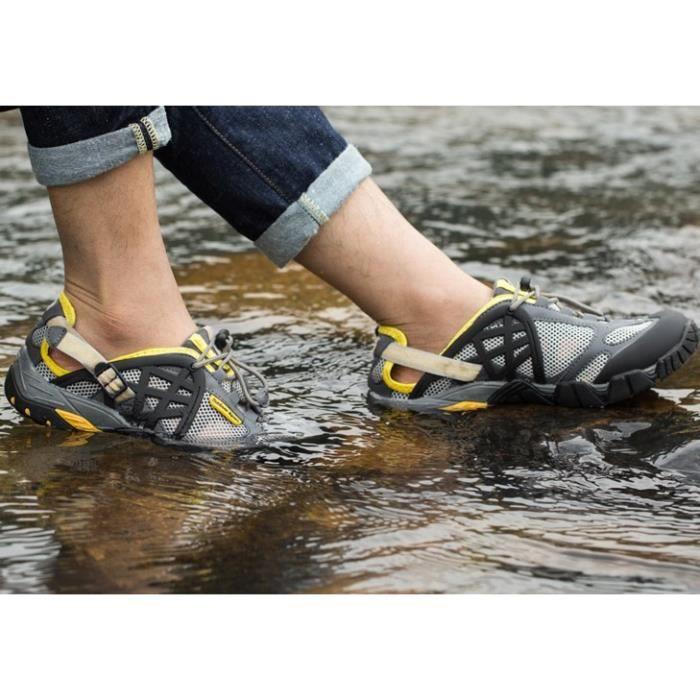 Hommes et femmes, randonnée en plein air, respirante, chaussures de randonnée