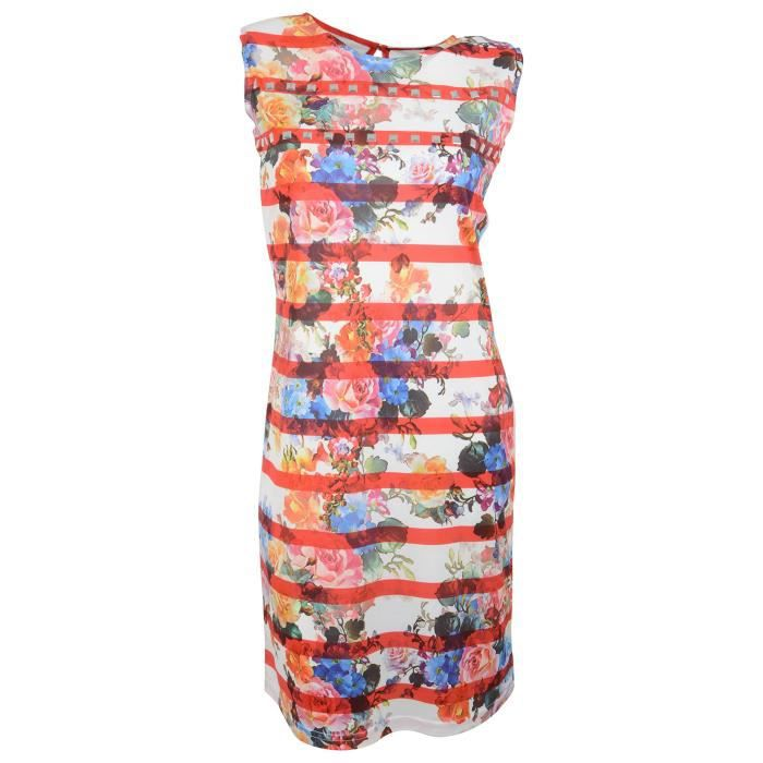 Womens Polyester Dress UHXJ2 Taille-40