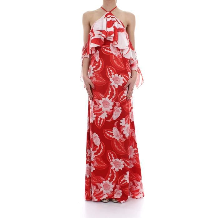 MARCIANO ROBEFemme 38 bianco Rosso GUESS BY CYnpaa for typist ... 783504d3359