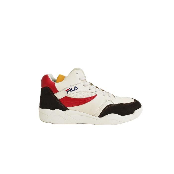 Baskets Blanc 101051879g Cuir Blancrouge Homme Fila Montantes Dhywe29i 7yb6gYvf