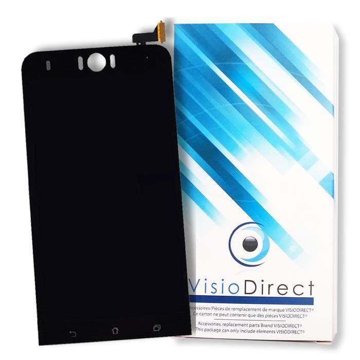 Ecran Complet Pour Asus Zenfone 2 Laser ZE551KL Noir Telephone Portable Vitre Tactile LCD