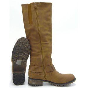 Robuste doublé fausse fourrure Outdoor Boots femmes bottescamel 36 wZR2v42