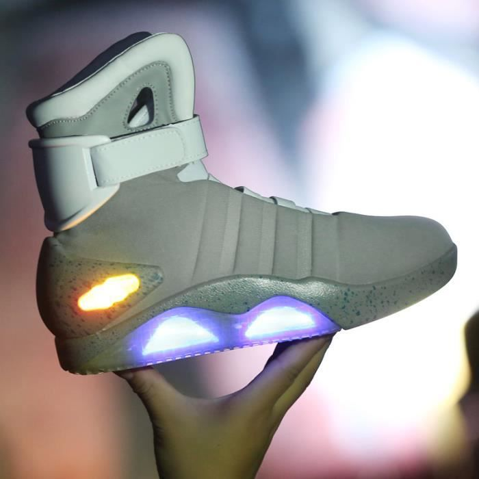 Back To Future Light Up Chaussures Baskets LEDChaussure