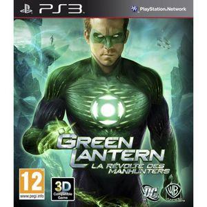 JEU PS3 Green Lantern Jeu PS3
