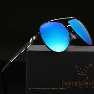 LUNETTES DE SOLEIL lunettes de Soleil Polarisées Hommes Rétro Rivet H