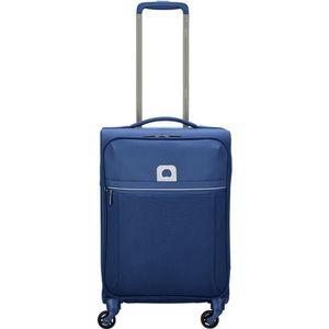 TROLLEY MATERIEL Delsey Brochant 4 Wheels Cabin Trolley 55 blue