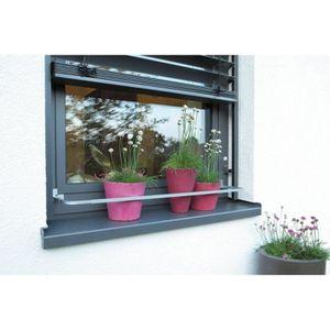 barre de protection pot de fleur flora pour rebord de. Black Bedroom Furniture Sets. Home Design Ideas