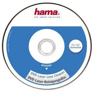 NETTOYAGE TV-VIDEO-SON HAMA 00048496 DVD de nettoyage pour tête de lectur