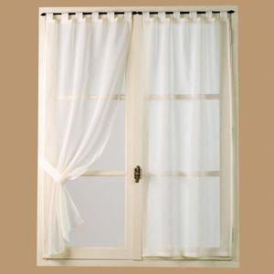 rideaux bonne femme achat vente pas cher. Black Bedroom Furniture Sets. Home Design Ideas
