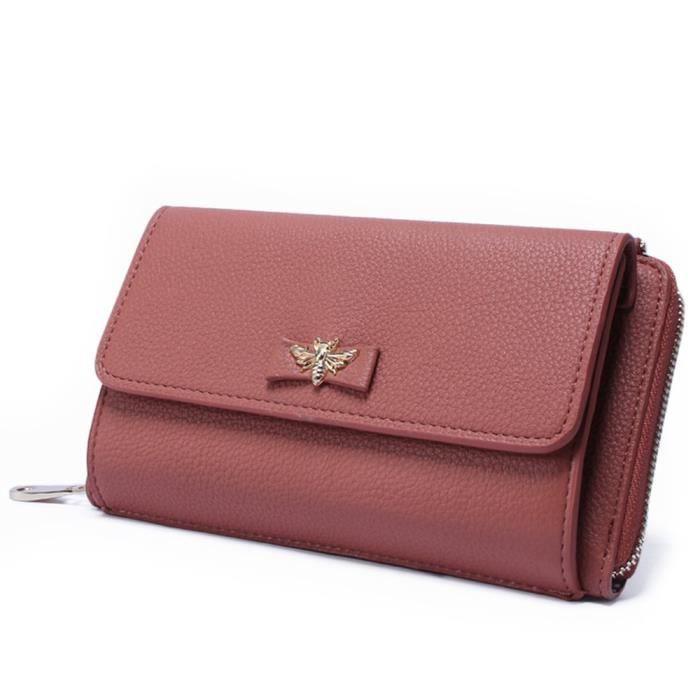 Portefeuilles de luxe Mini sac à main avec sac à bandoulière amovible OSTA6