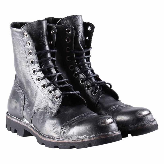 Chaussures homme Bottes et bottines Diesel Steel Noir Noir - Achat ... 4d48cd49c680