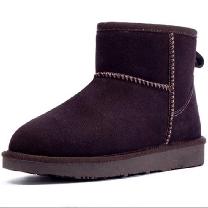 Bottes Winter Ladies chaussures de neige de loisirs chaussures de coton chaud AiKi2z