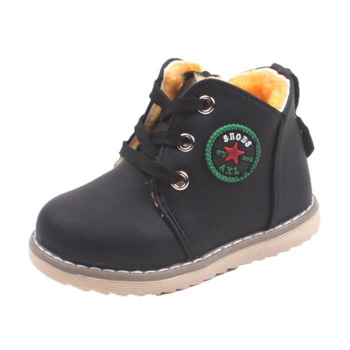 BOTTE Enfants Chaussures Garçons Filles Sport Chaussures Bébé Mode Enfant En Bas Âge Sneakers@NoirHM wwLF8w2NT