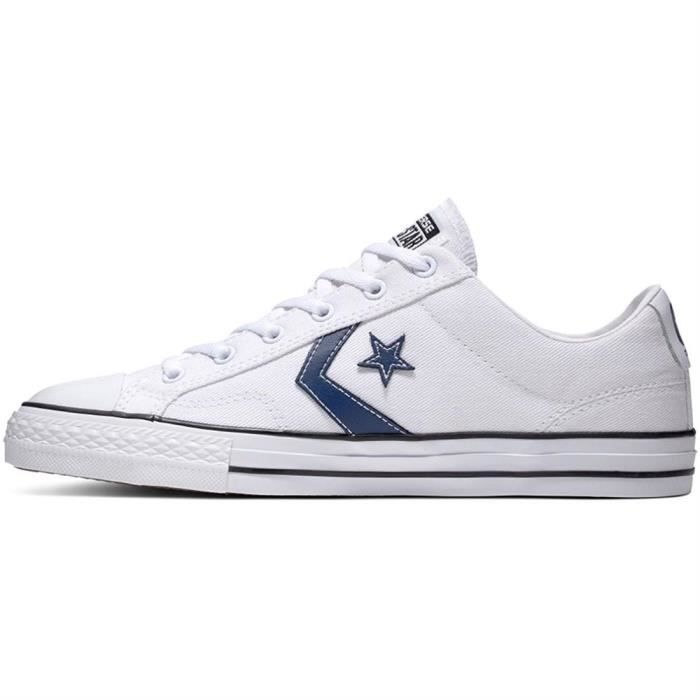 Converse Star Player Ox Baskets pour Homme Blanc