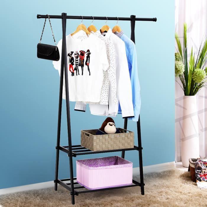 diy portant vetement free diy portants pour afficher avec. Black Bedroom Furniture Sets. Home Design Ideas