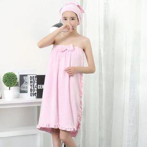 peignoir sortie de bain femme achat vente peignoir sortie de bain femme pas cher soldes. Black Bedroom Furniture Sets. Home Design Ideas