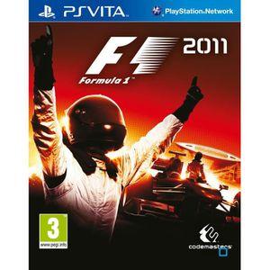 JEU PS VITA Formula 1 2011 Jeu PS Vita