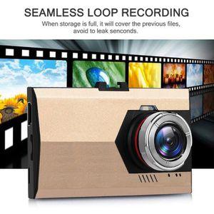 BOITE NOIRE VIDÉO 1080P Night Vision HD G-capteur voiture DVR caméra