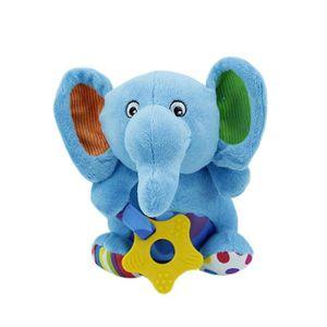 DOUDOU Bébé puzzle jouets en peluche avec  grincer des de