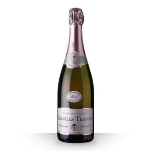 ASSORTIMENT CHAMPAGNE Charles Tession Brut Rosé 75cl Grand Cru - Champag