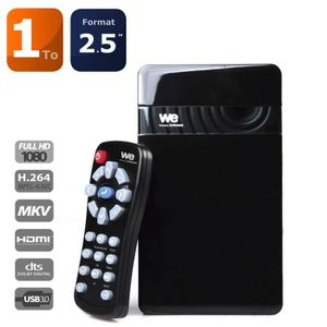 DISQUE DUR EXTERNE We Travel HD 1To 2.5
