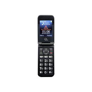 Téléphone portable Téléphone sénior mobile clapet M800-3G SWITEL 3G -