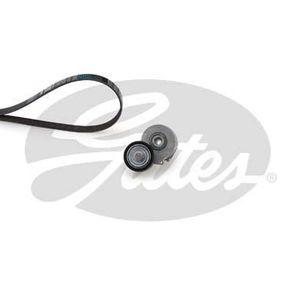 COURROIE TRAPÉZOÏDALE GATES Kit courroie d'accessoire Micro V K016PK870