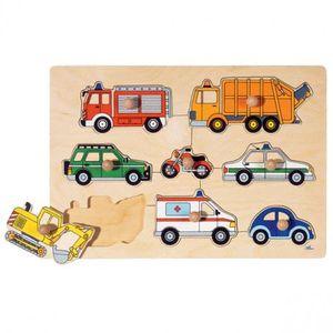 PUZZLE Puzzle à encastrements: les véhicules
