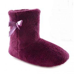 vider Bottes en tricot de femme Violet 7iwL44ye3i