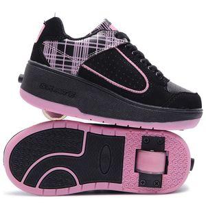 SKATESHOES Baskets Enfants Chaussures À Roulettes Garçons Fil