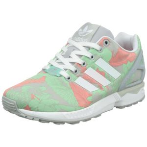 new styles 53d90 b514f BASKET ADIDAS Femmes Zx Flux, formateurs 3AO9NF Taille-37