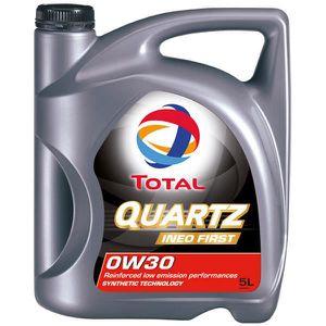 HUILE MOTEUR Huile Moteur Total Total 0W30 Quartz Ineo First 5L