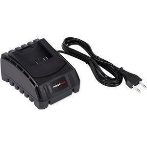 CHARGEUR MACHINE OUTIL POWER PLUS  POWEB9050 Chargeur de batterie 18 v Li