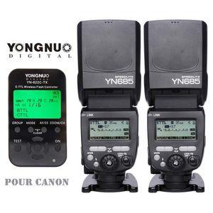 FLASH 2 x Yongnuo YN685 Flash + YN-622C-TX sans fil Flas