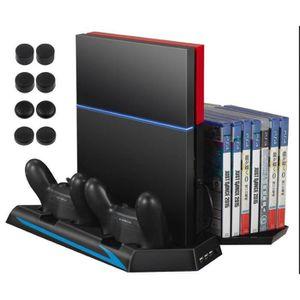 VENTILATEUR CONSOLE PS4 Vertical Stand, Ventilateur de Refroidissement