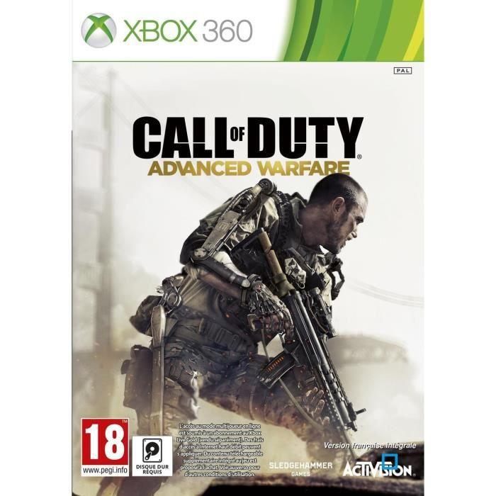 Call Of Duty Advanced édition Standard - Jeu Xbox 360