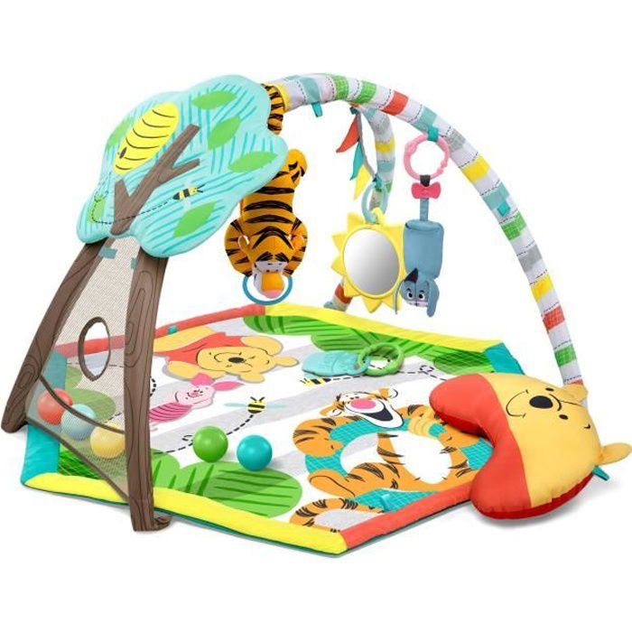 DISNEY BABY Tapis d'Eveil Winnie L'Ourson Happy as Can Be