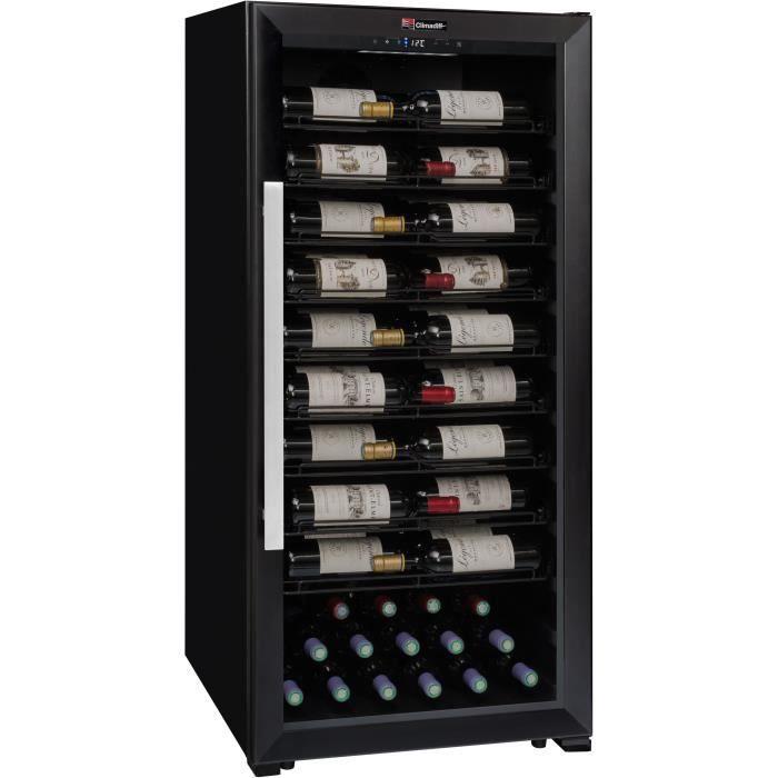 CLIMADIFF PRO100 - Cave de service multi température ou de vieillissement – 98 bouteilles – Pose lib