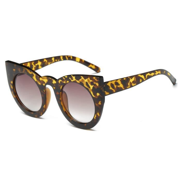 rétro lentille Leopard mode miroircouleur soleil hommes Aviator Vintage  Femmes de lunettes lunettes unisexe de 4xMUFE1qwP ... 03e6497f4af3
