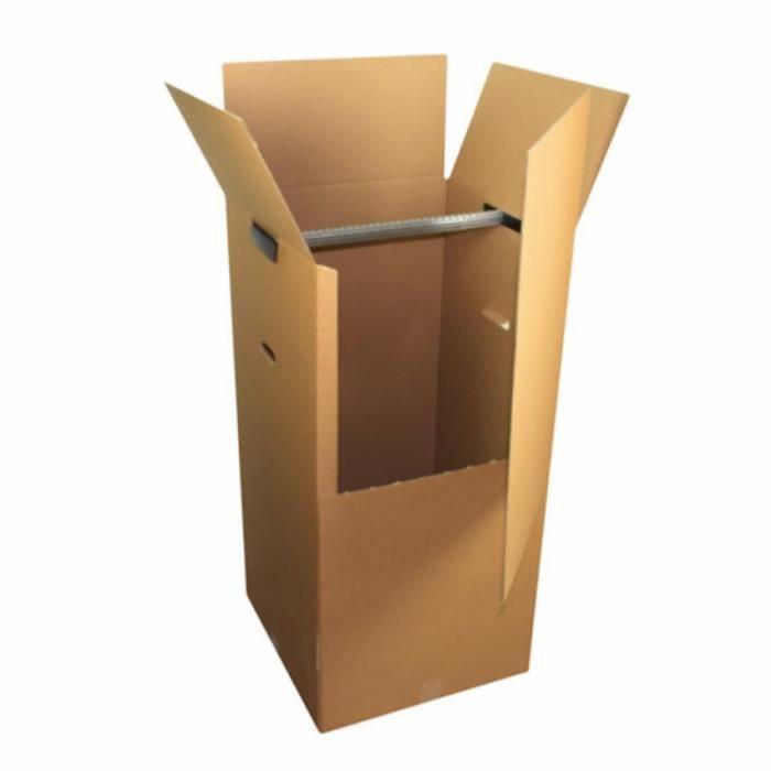 carton penderie petit mod le achat vente caisse. Black Bedroom Furniture Sets. Home Design Ideas