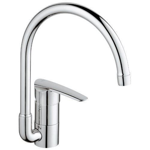 Grohe 32449000 wave mitigeur monocommande vier achat - Robinetterie grohe cuisine ...