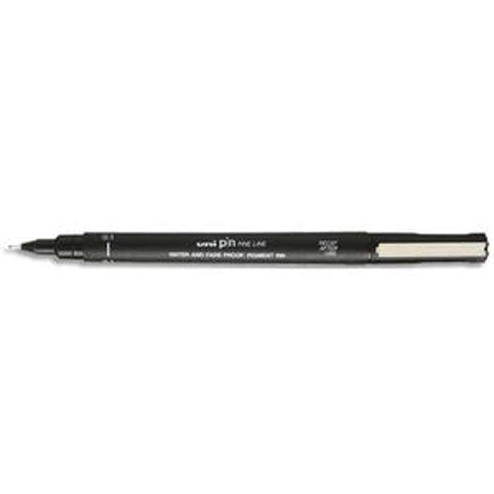 Uni-Ball Lot de 12 stylos//marqueurs Noir 0,8 mm