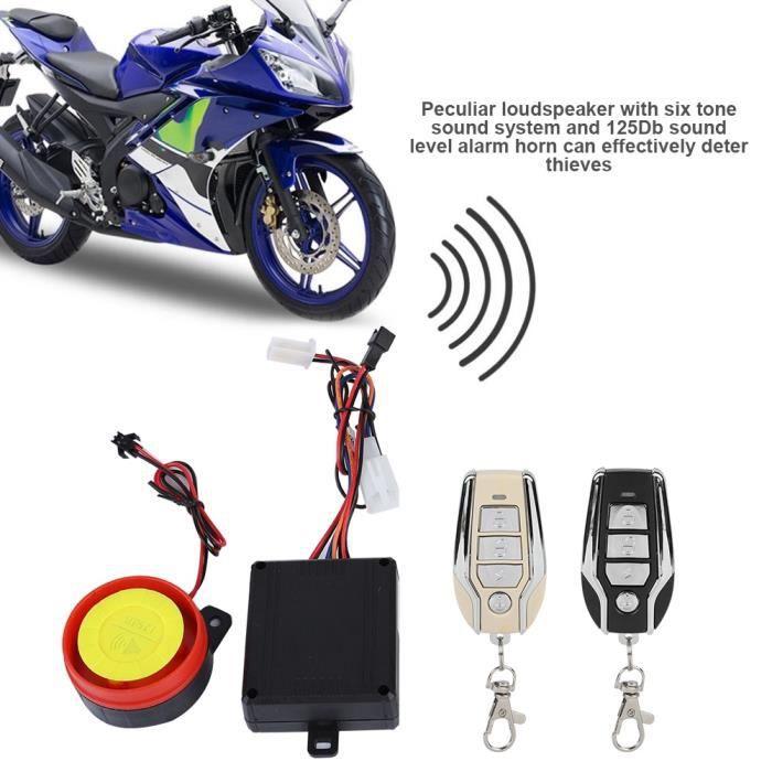 quelle alarme pour moto