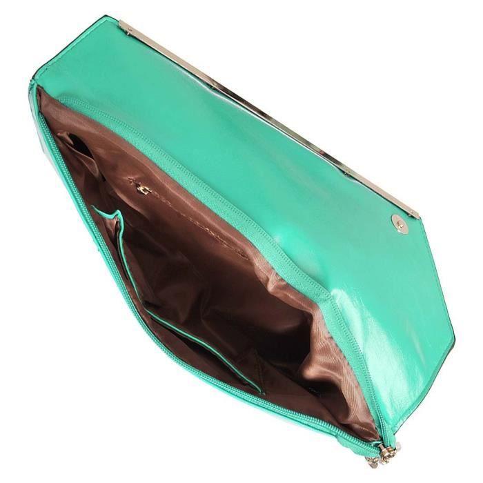 de dembrayage sac main bourse plissé à mariage portefeuille de Craze strass fête de soirée VTK3U satin 50a74ncF