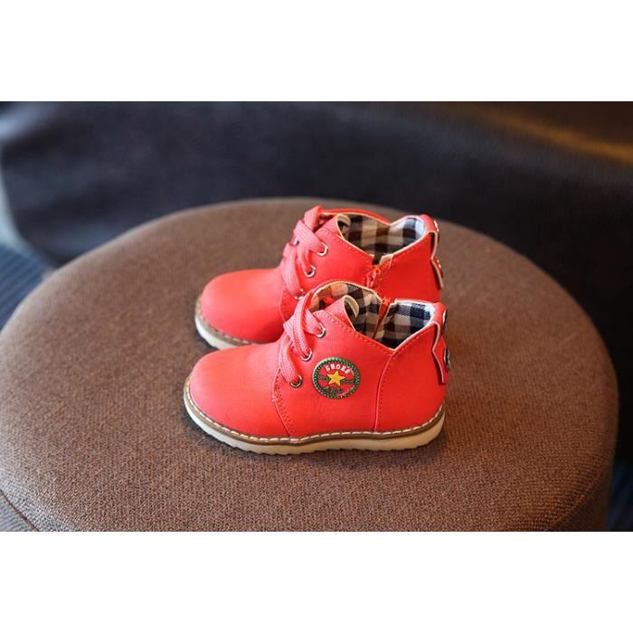 Bottes de neige pour enfants épaississement chaud chaussures en coton chaussures pour enfants 21-30 size qKvp78WtH