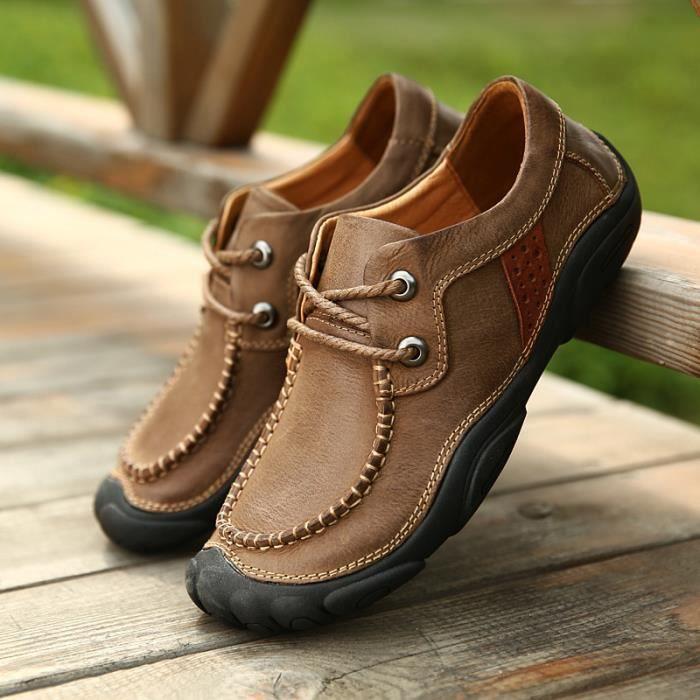 Chaussures bateau Cuir Homme