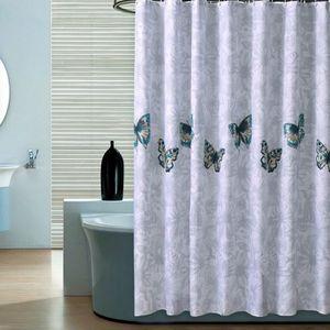 rideau de douche hauteur 240 achat vente pas cher. Black Bedroom Furniture Sets. Home Design Ideas