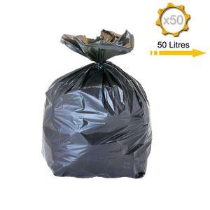 sac poubelle 50 litres achat vente pas cher. Black Bedroom Furniture Sets. Home Design Ideas