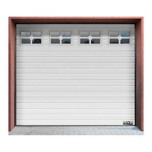 PORTE DE GARAGE Porte De Garage Sectionnelle Industrielle Fenêtre